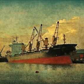by Arkamitra Roy - Transportation Boats