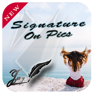 Name Art signature maker with photo