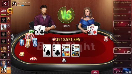 DH Texas Hold'em Poker 1.1.9 Mod screenshots 1