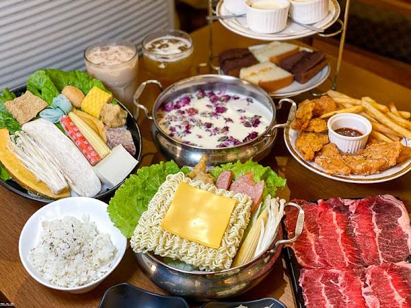 「時光秘境」30種特色風味火鍋!人氣必點牛奶鍋/部隊鍋~吃鍋再送下午茶組。|台南聚餐|台南火鍋推薦|
