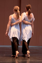Photo: Choreography: Jennifer Dail Dancers: Kira Barondeau, Jennifer Dail Photo By: Brian Passey