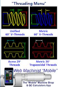 CNC Machinist Threading Calculator 1.0