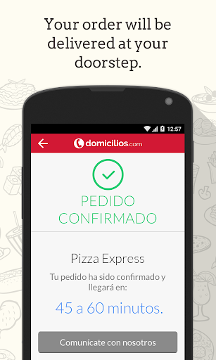 Domicilios.com - Order food for PC