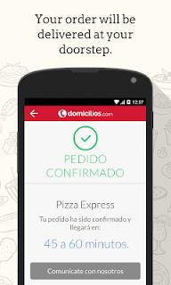 Domicilios.com - Order food screenshot 02