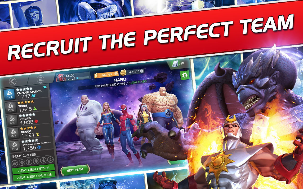 Marvel Contest of Champions 28.2.0 Mod a lot of money