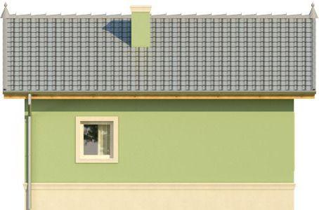 Domek 1 - Elewacja tylna