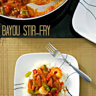 Bayou Stir-Fry.