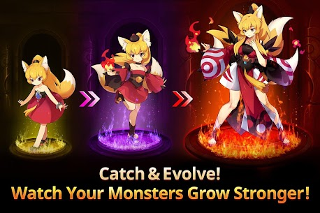 Monster Super League 1.0.18102505 Mod Apk [God Mod/ High Attack] 4