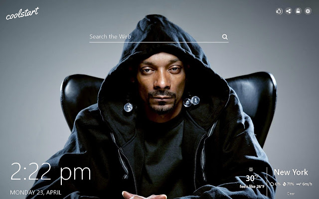Snoop Dogg HD Wallpapers Social New Tab Theme