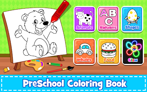 Coloring Games : PreSchool Coloring Book For Kids For PC / Mac / Windows  7.8.10 - Free Download - Napkforpc.com