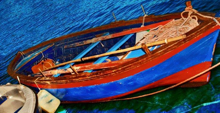 Semplicemente barca di originalgraphic
