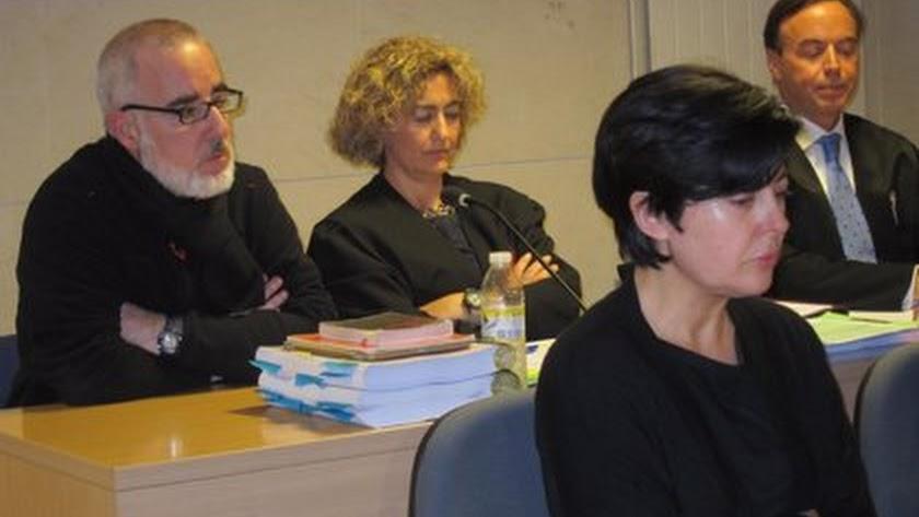 Rosario Porto en una sesión del juicio.