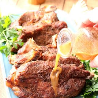 Jamaican Jerk Pork Ribs.