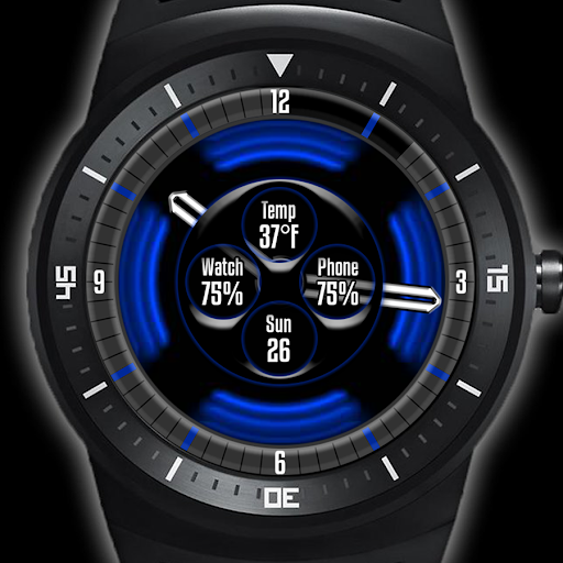 PulsedOut Blue Watch
