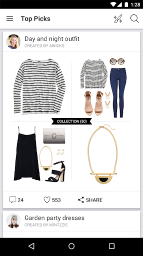 Polyvore Style: Fashion to Buy Screenshot
