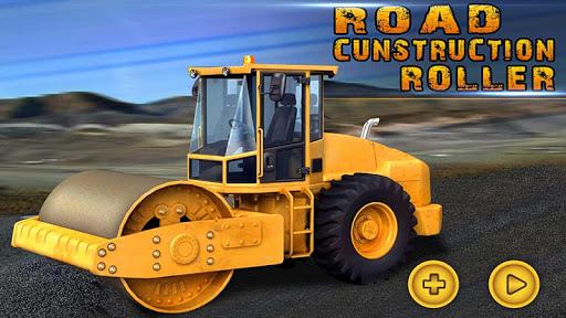 City Roads Construction Roller