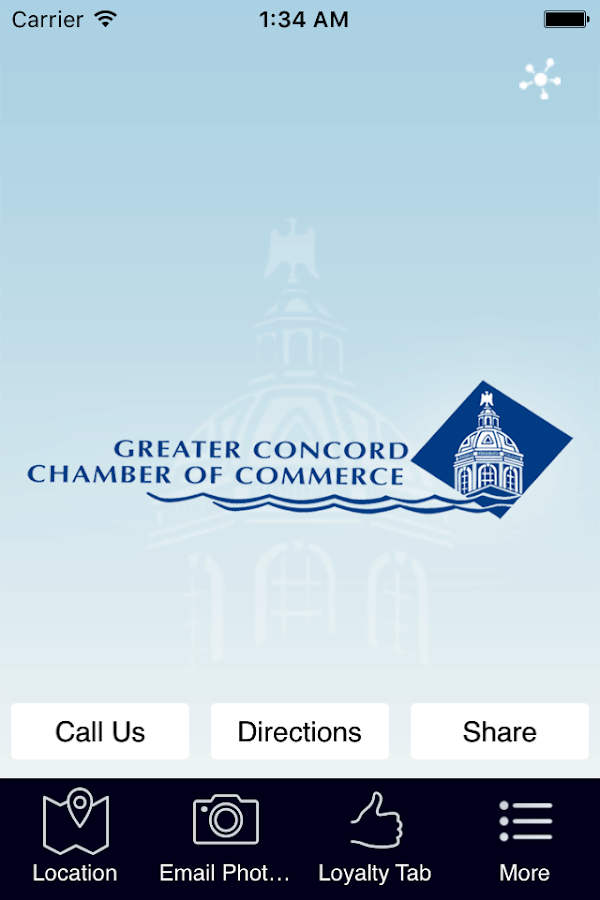 Concord Chamber of Commerce- screenshot
