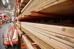 Lumber Dept. at Home Depot™