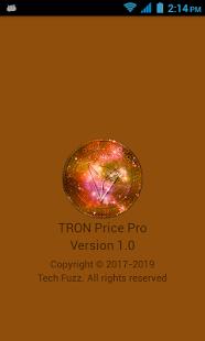 TRON Price Pro - náhled