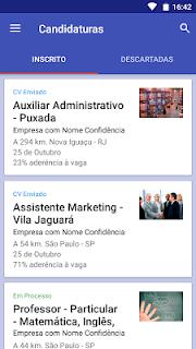Vagas de empregos screenshot 03