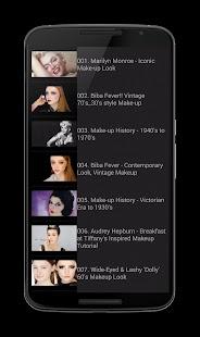 MakeUp Blush Tutorial screenshot