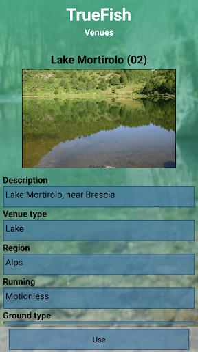 TrueFish screenshot