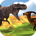 Hungry T-Rex: Island Dinosaur Hunt icon