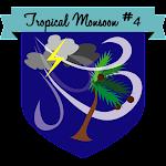 Button Tropical Monsoon #4