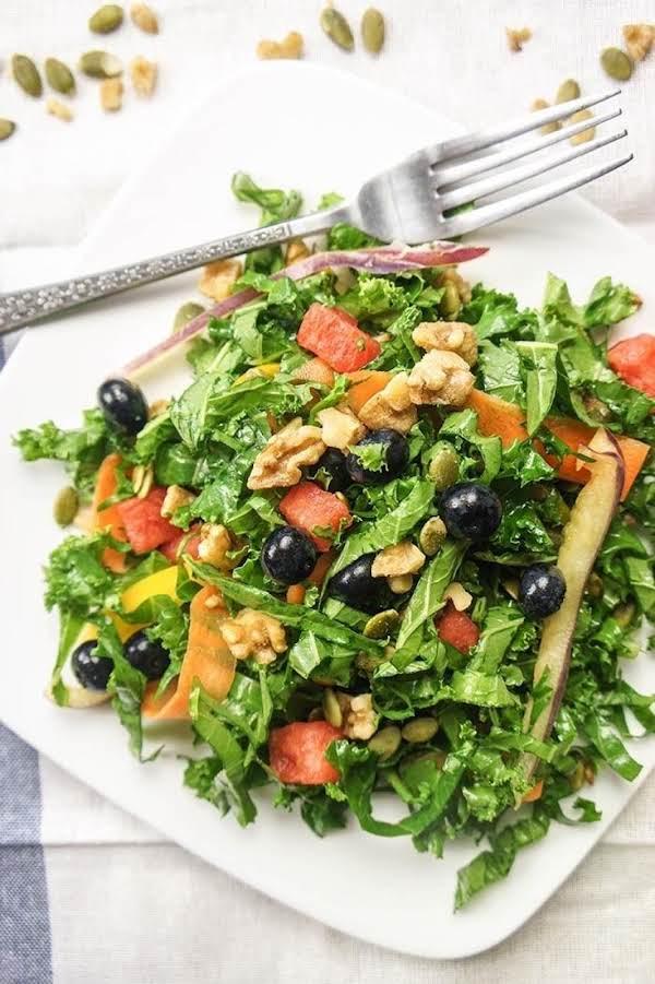 Kale-watermelon  Salad Recipe