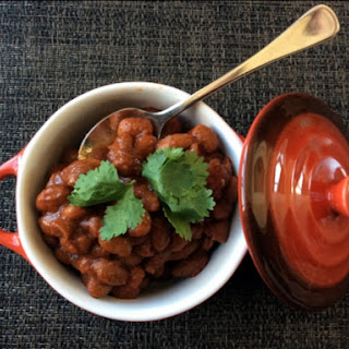 Mexican Baked Beans.