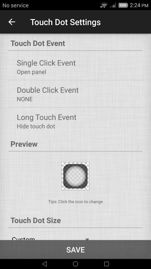 Assistive Easy Touch Tool- screenshot