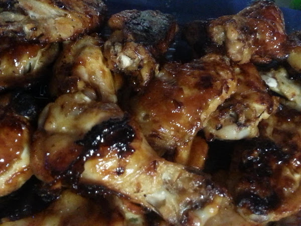 Game Day Ranch Flavored Wings W/ Bacon-ranch Dip Recipe