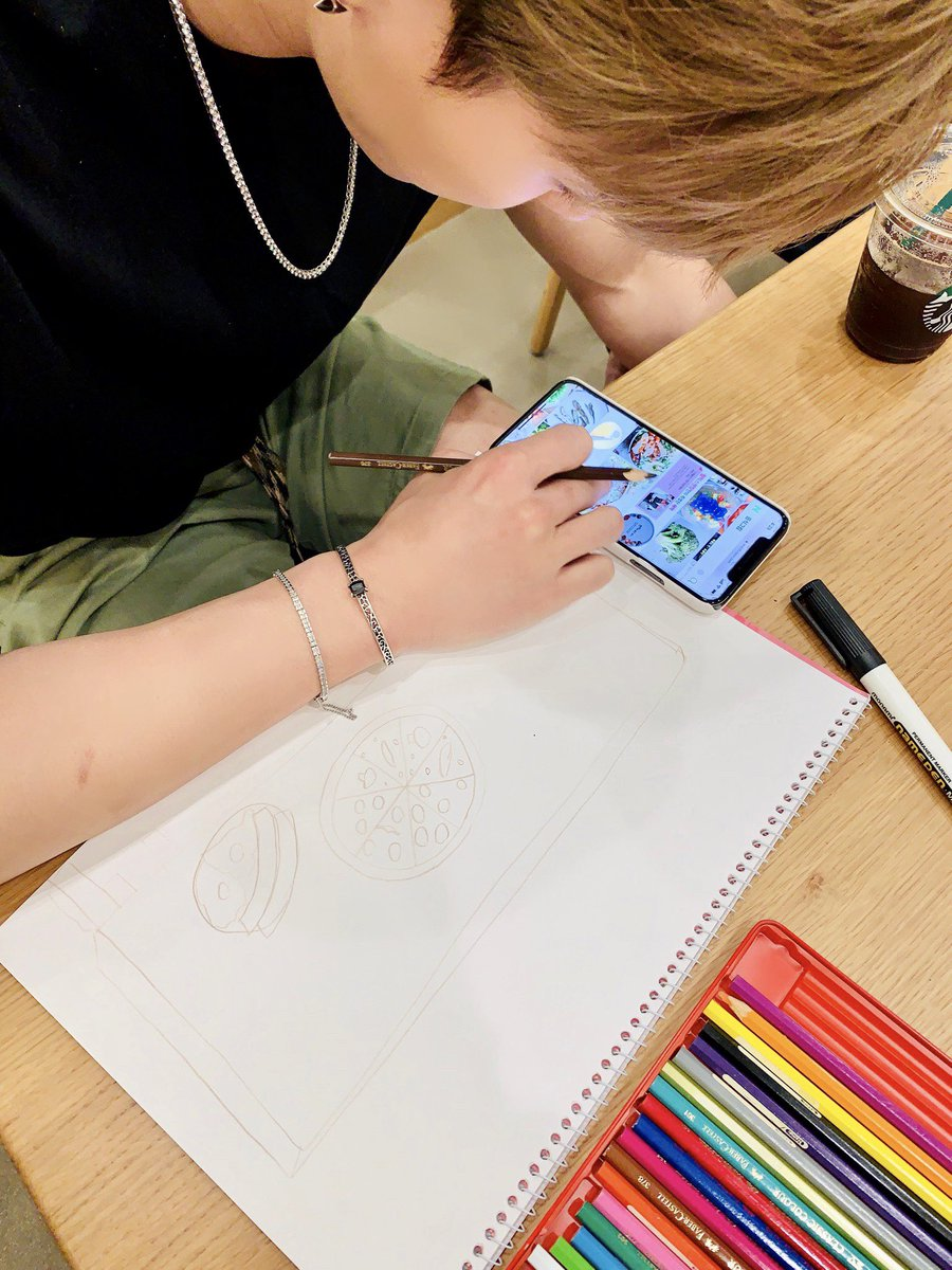 MONSTA X_DRAWING_SHOWNU_MAKING