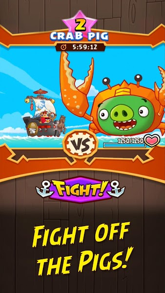 Angry Birds Fight! Mega Mod Apk