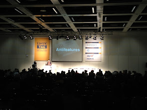Photo: Antifeatures Keynote