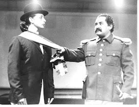 Photo: Batty Roca Rey y Ramón García -Ya viene Pancho Villa-1984