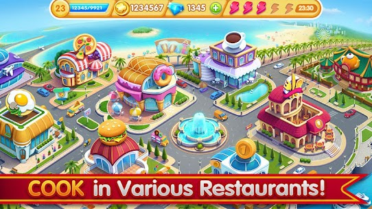 Cooking City: crazy chef' s restaurant game 4