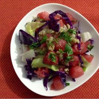 Water Melon & Mint Salad Recipe