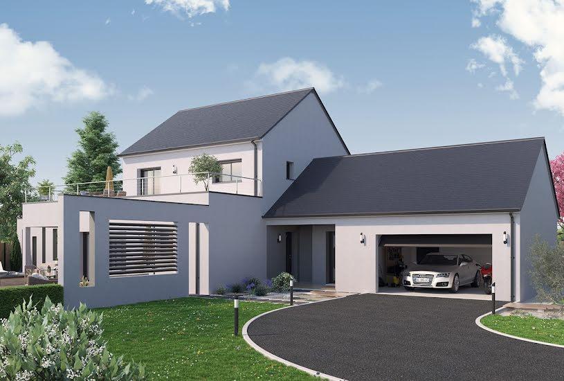 Vente Terrain + Maison - Terrain : 413m² - Maison : 148m² à Nivillac (56130)