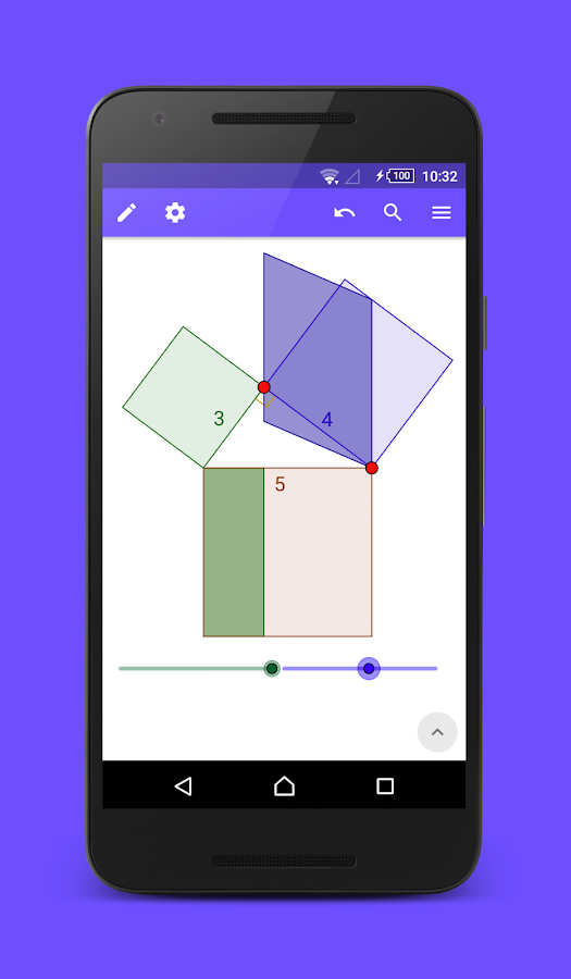 GeoGebra Geometry Calculator- screenshot