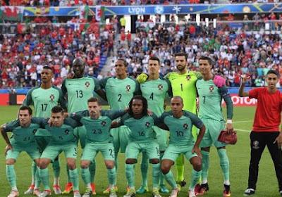 Enorme! Un jeune s'incruste sur la photo d'équipe du Portugal (vidéo)