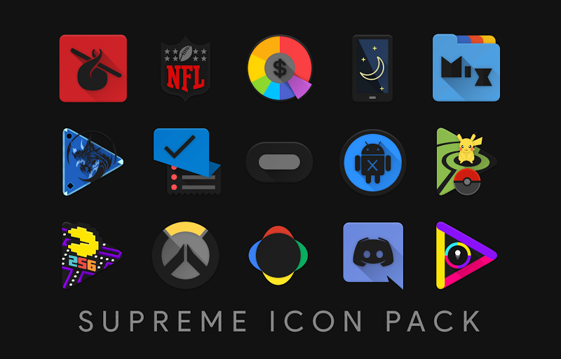 Supreme Icon Pack Screenshot 17