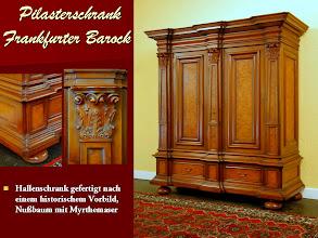 Photo: Pilasterschrank, BAYER Stilmöbel