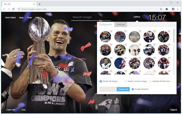 New England Patriots Wallpapers New Tab Theme
