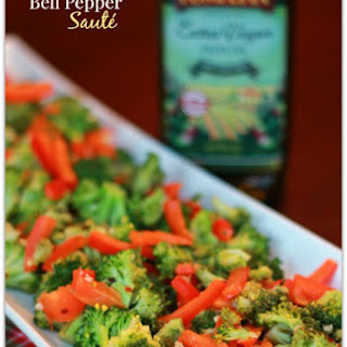 Broccoli and Bell Pepper Sauté Recipe