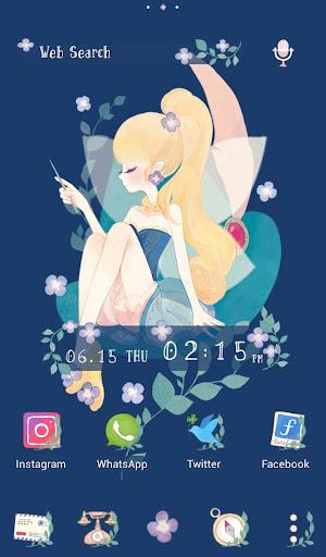 Cute Wallpaper Tinkerbell's Day Off Theme 1.0.0 Windows u7528 1