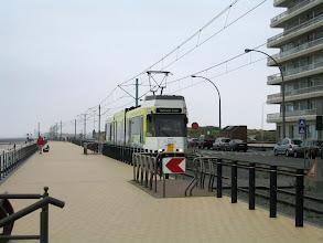 Photo: De la Panne (frontière française) àau Knokke (frontière hollandaise) circule le fameux tramway !