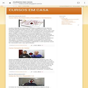 Cursos da Hora - náhled