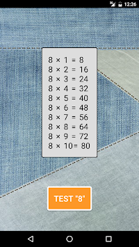 Times Tables and Division game apk screenshot