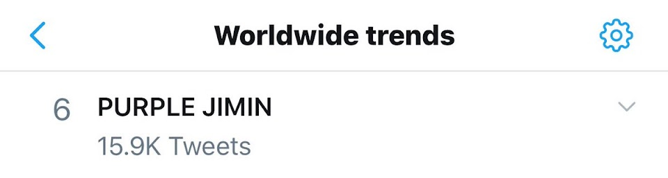 PurpleJimin Trends